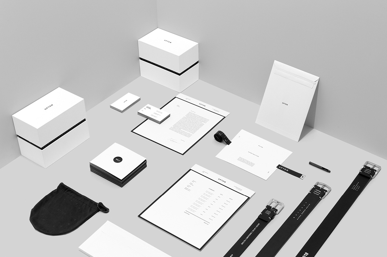 Upton Belts Branding by Wedge & Lever