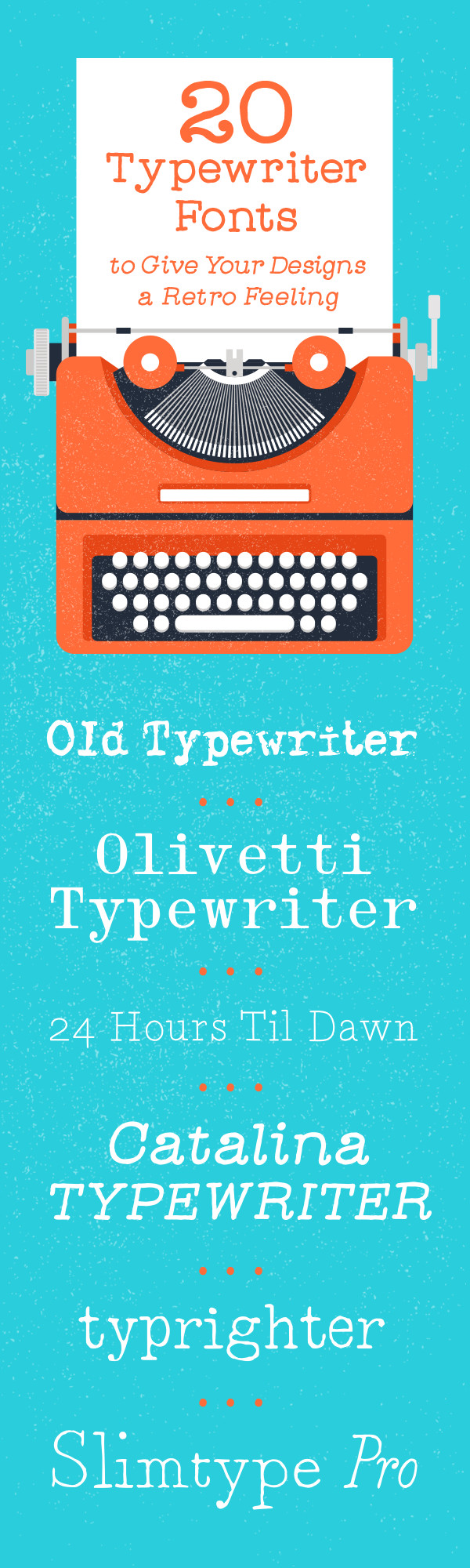 20-Typewriter-Fonts-Pinterest