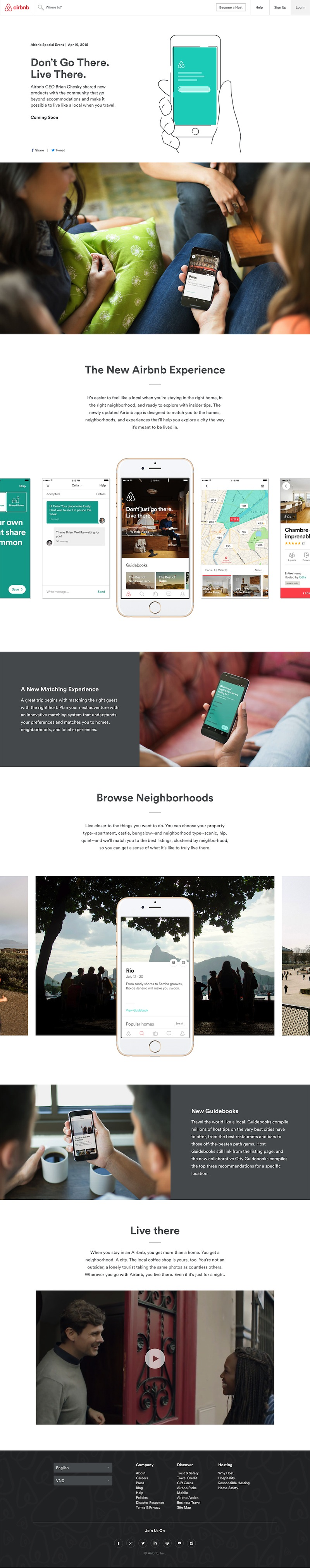 Airbnb - Live There