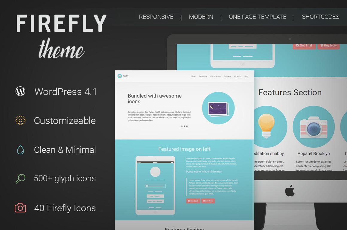 Firefly Minimal WordPress Theme