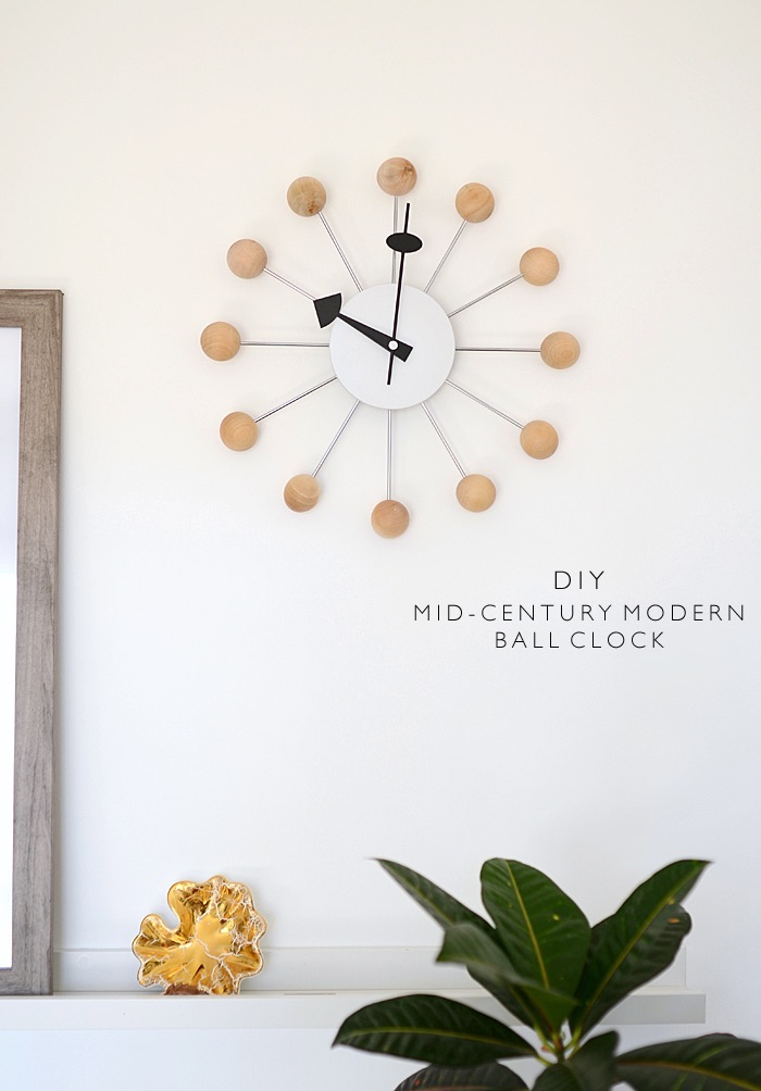 Office-Ideas-DIY-MidCentury-Modern-Clock