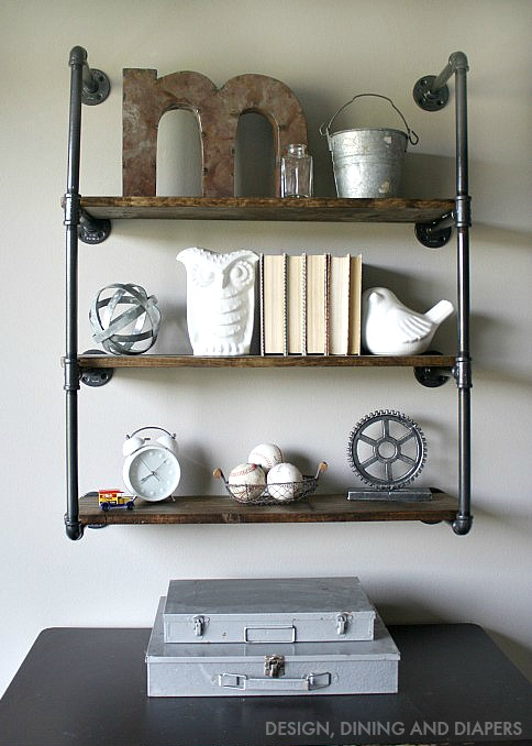 Office-Ideas-DIY-Piping-Shelves