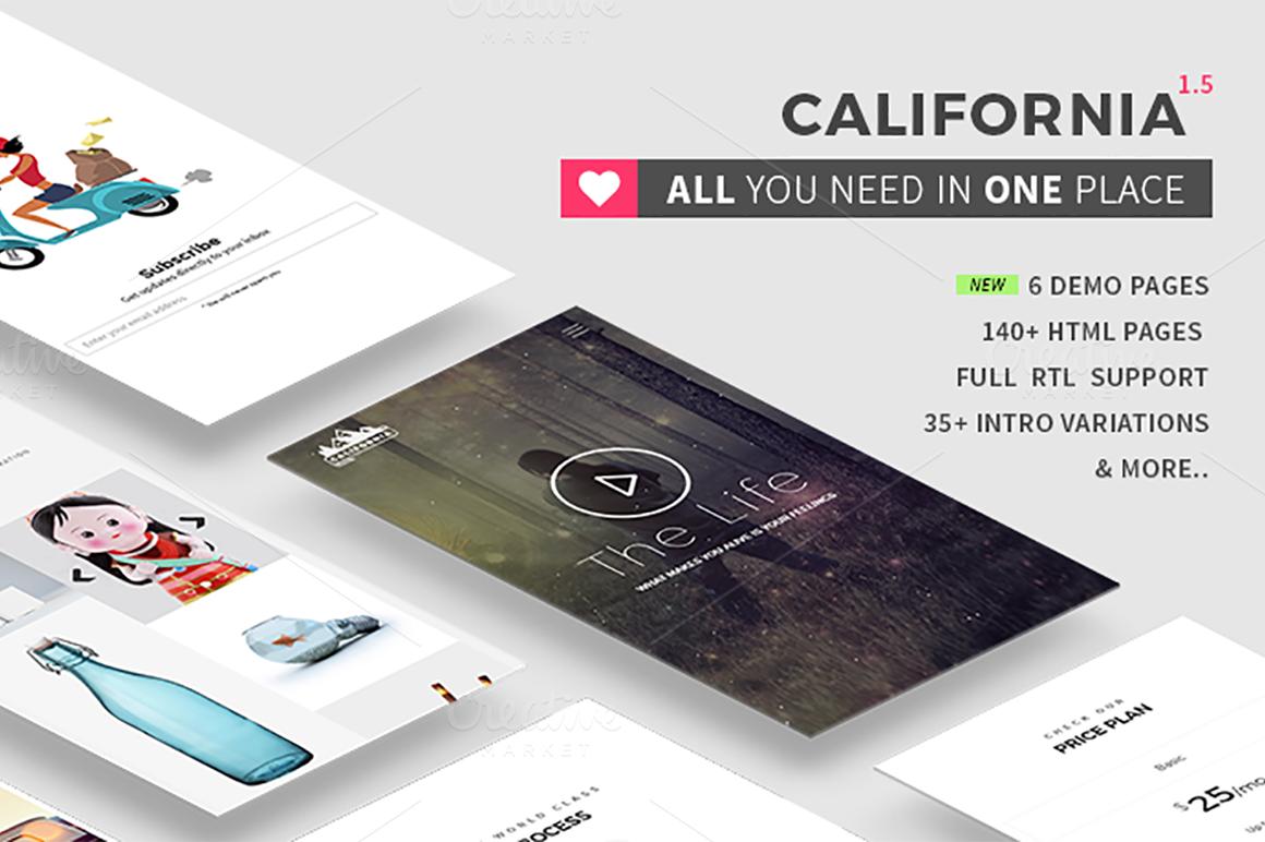 california theme
