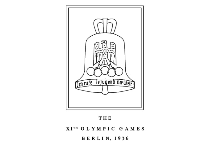 milton rates olympic logos - berlin 1936