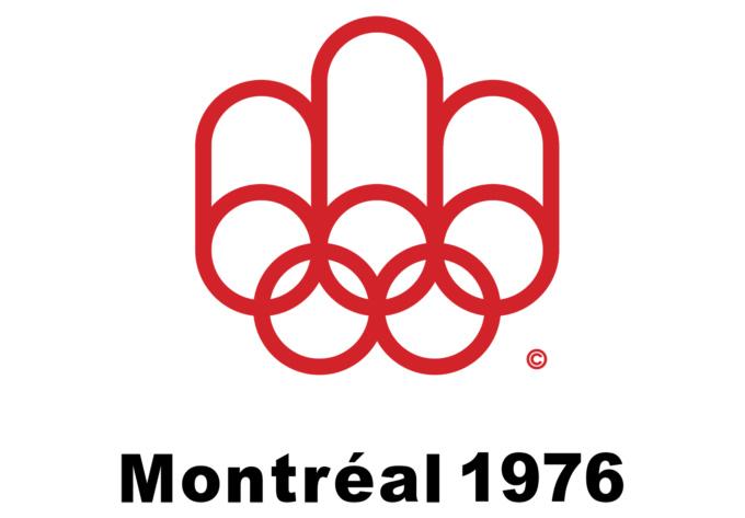 milton rates olympic logos - montréal 1976