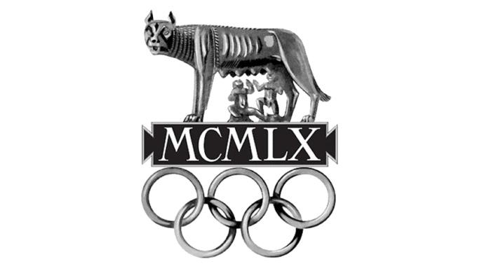 milton rates olympic logos - rome 1960
