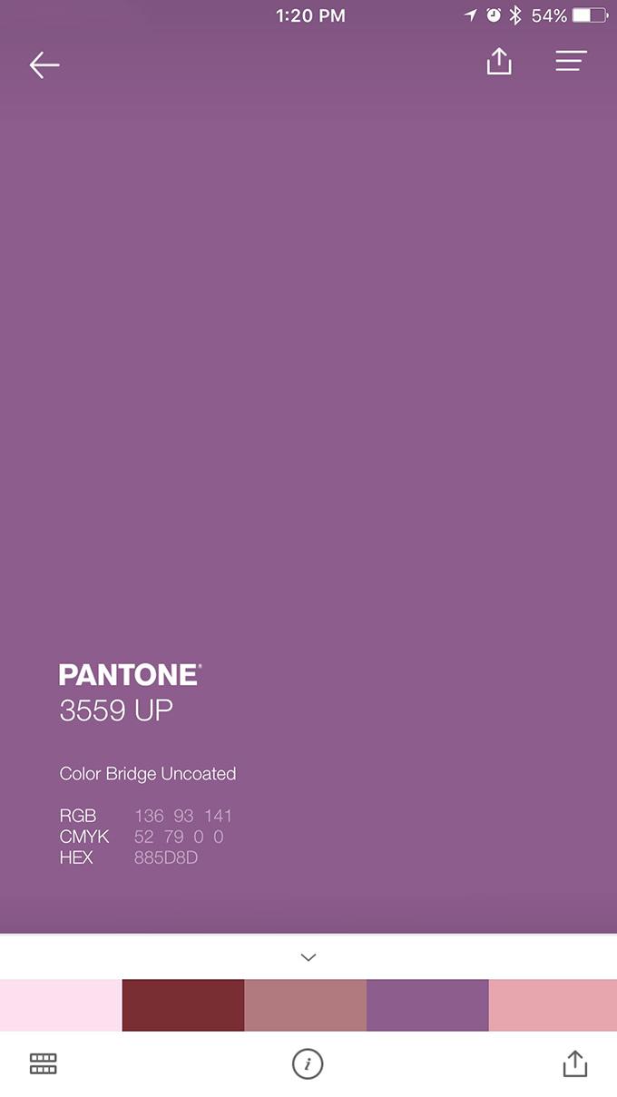 pantone studio app - hue