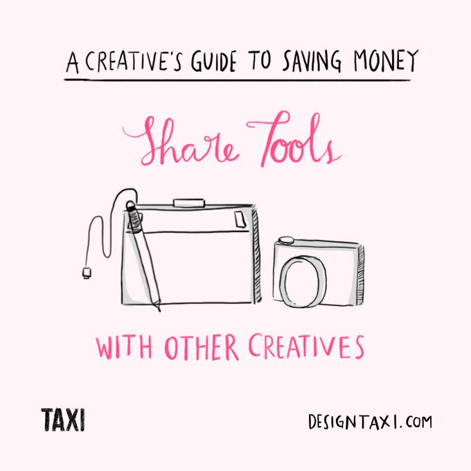 How to save money as a designer - 001