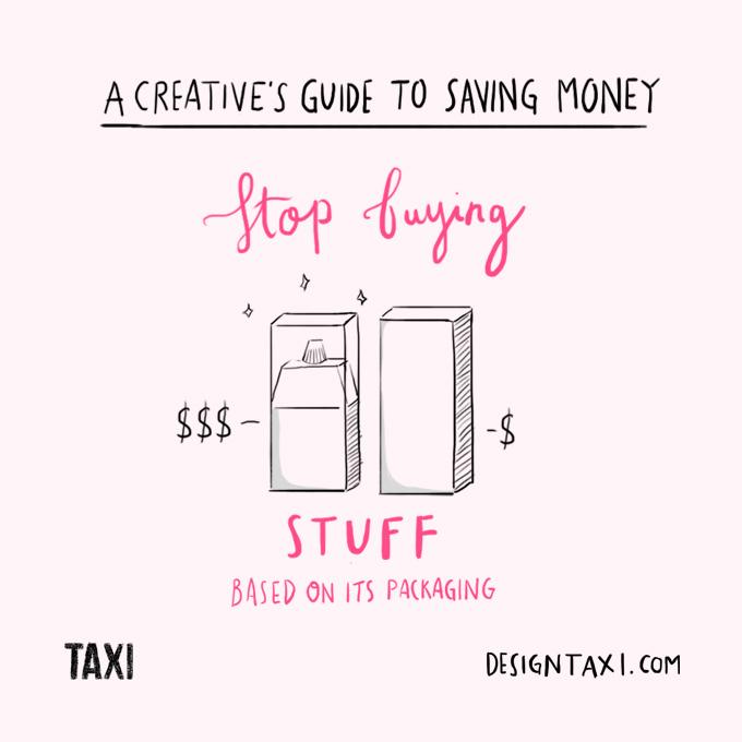 How to save money as a designer - 002