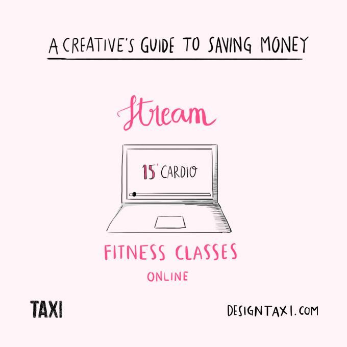 How to save money as a designer - 005