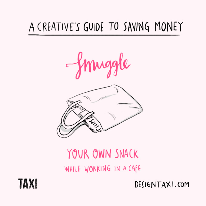 How to save money as a designer - 006