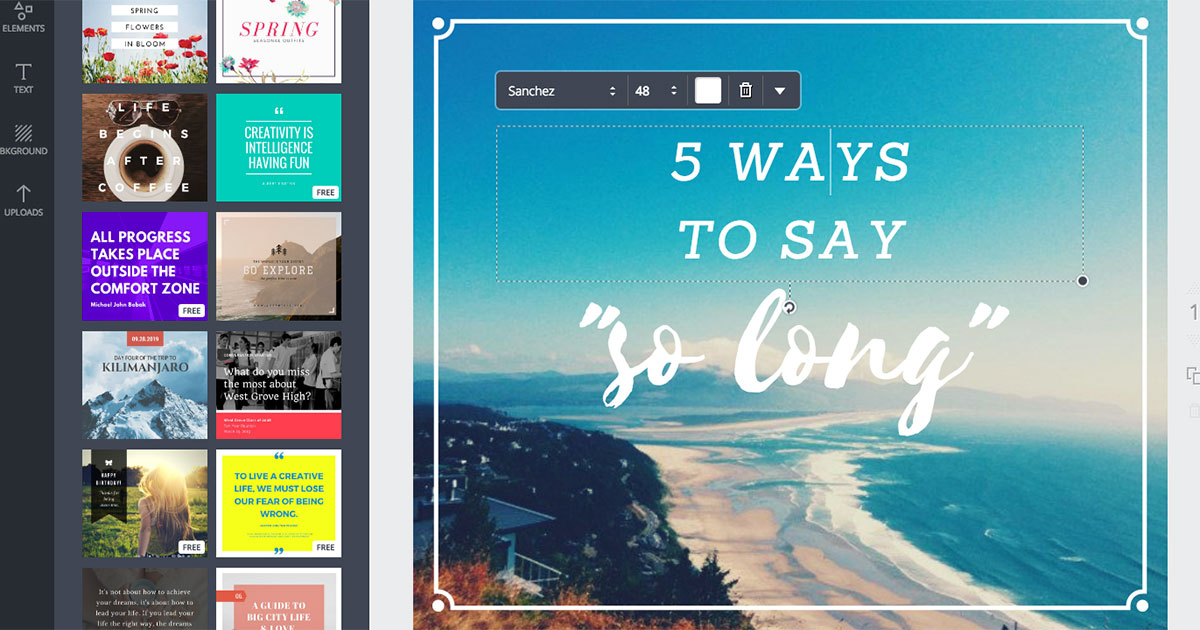 Canva, Adobe Spark and 28 Other Apps That Let You Design ...