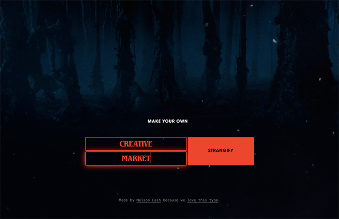 Stranger Things type generator entry