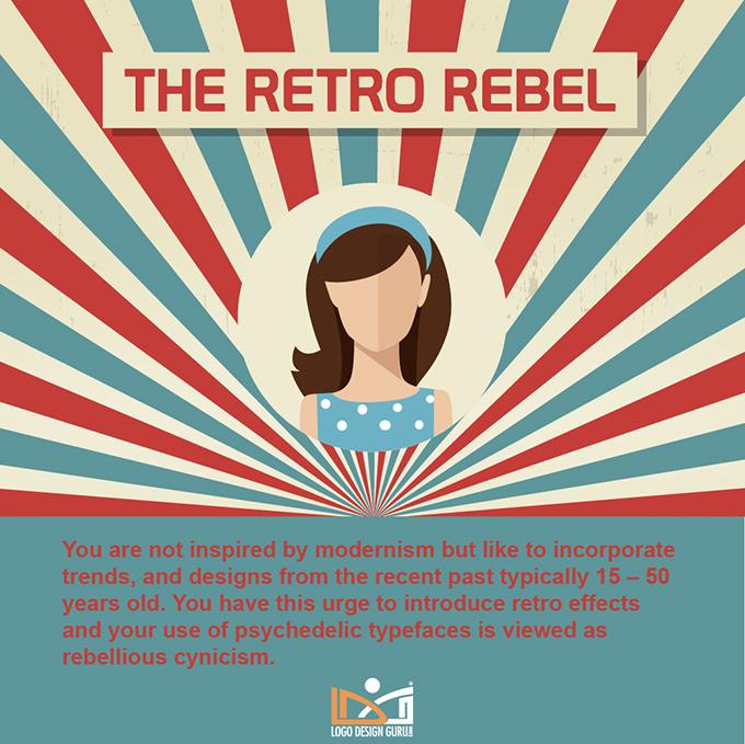 The Retro Rebel Designer