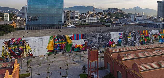 worlds largest street mural rio - 001