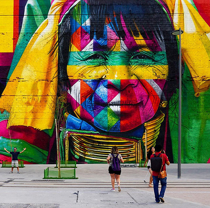 worlds largest street mural rio - 003