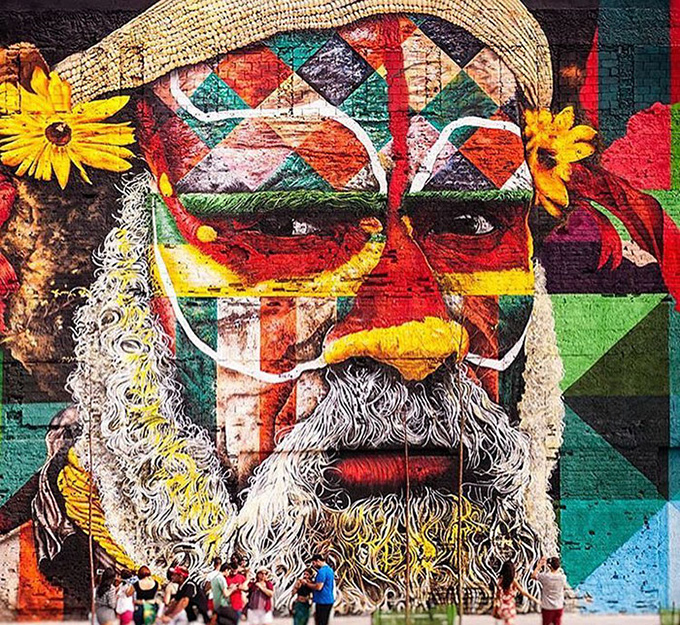 worlds largest street mural rio - 006