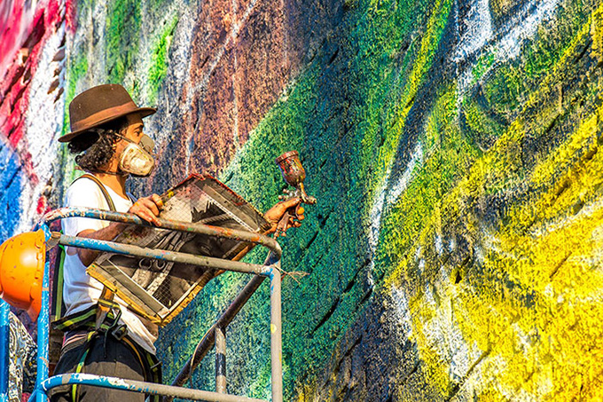 worlds largest street mural rio - 007