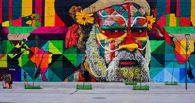 worlds largest street mural rio - 008