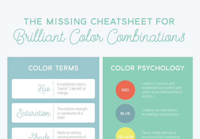 a dictionary of color combinations