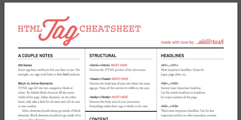 15-Graphic-Design-Diagrams-HTML-Cheatsheet