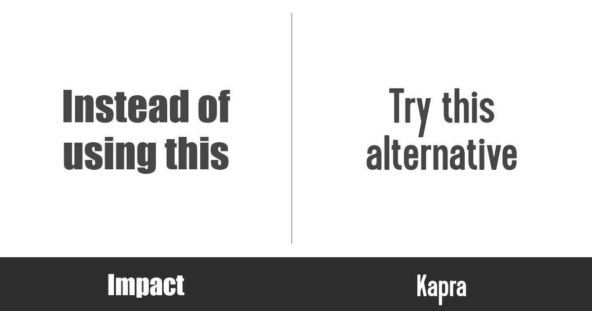 stylish-fonts-impact-kapra
