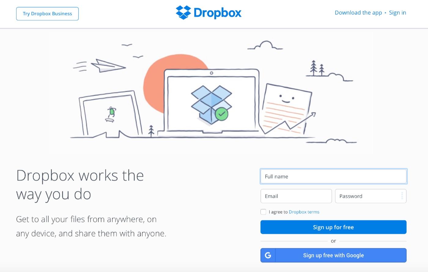 dropbox-backup-files