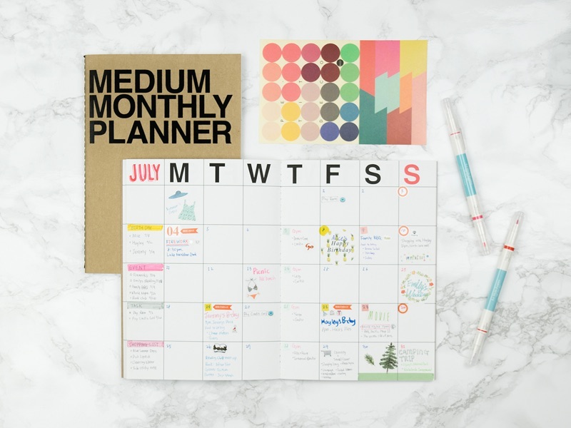 14 day planners that will boost your creative career creative