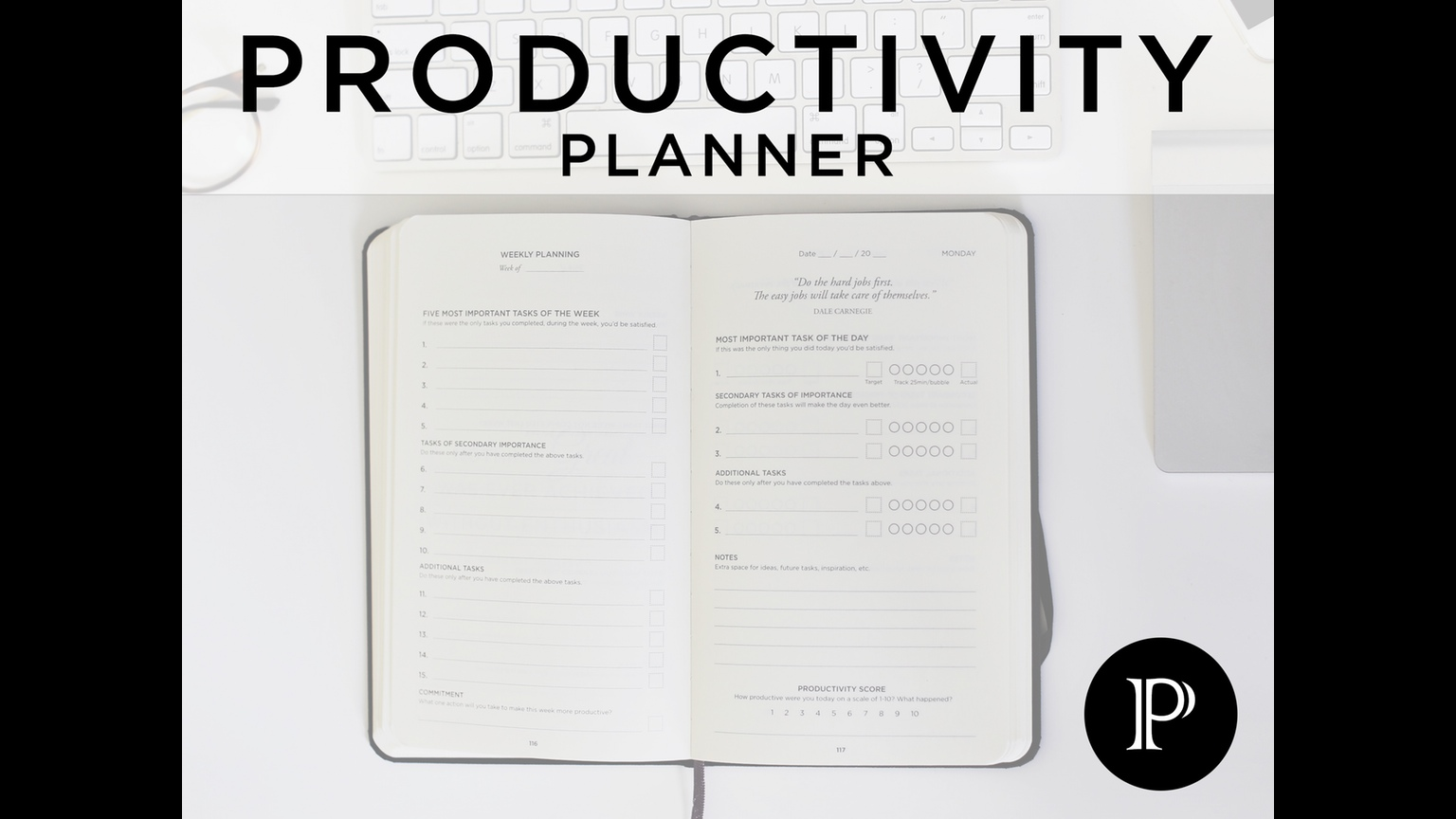 Day Planners That Will Boost Your Creative Career Creative - Productivity planner review