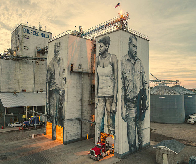 Guido Van Helten at Unexpected