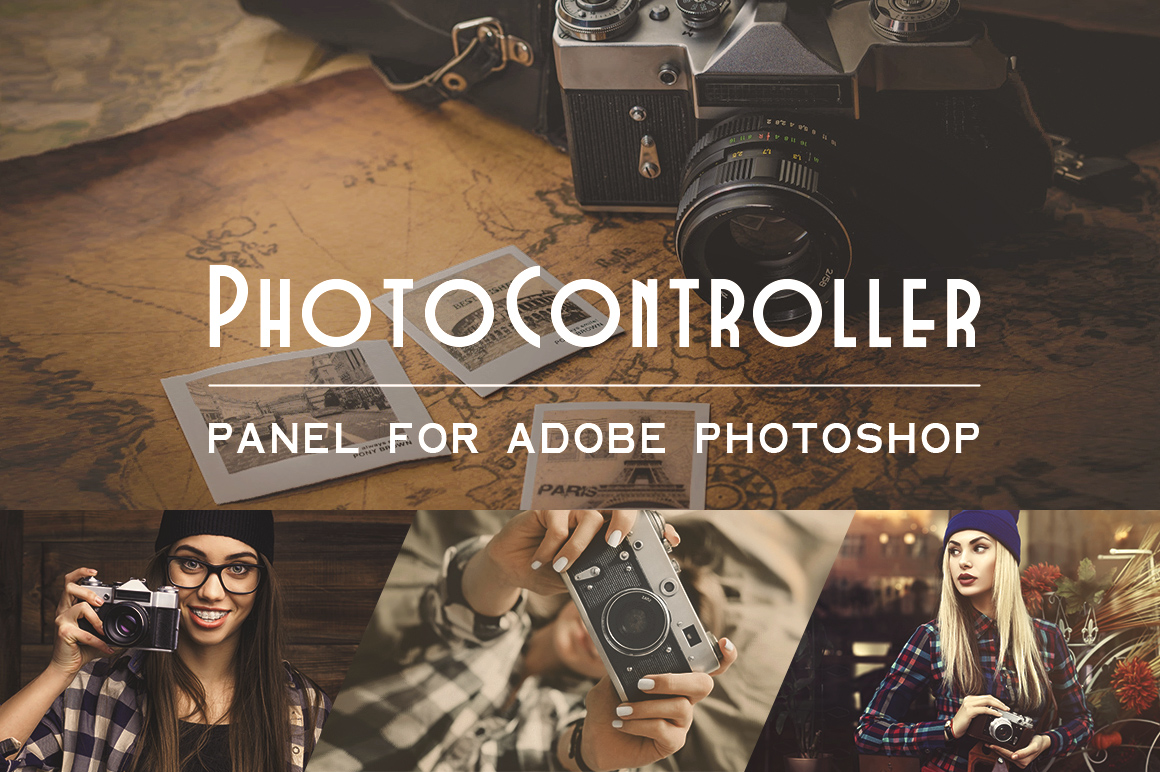 Photo Controller Panel for Photoshop
