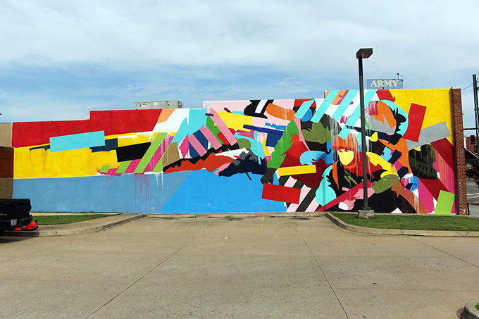 Maser art at Unexpected