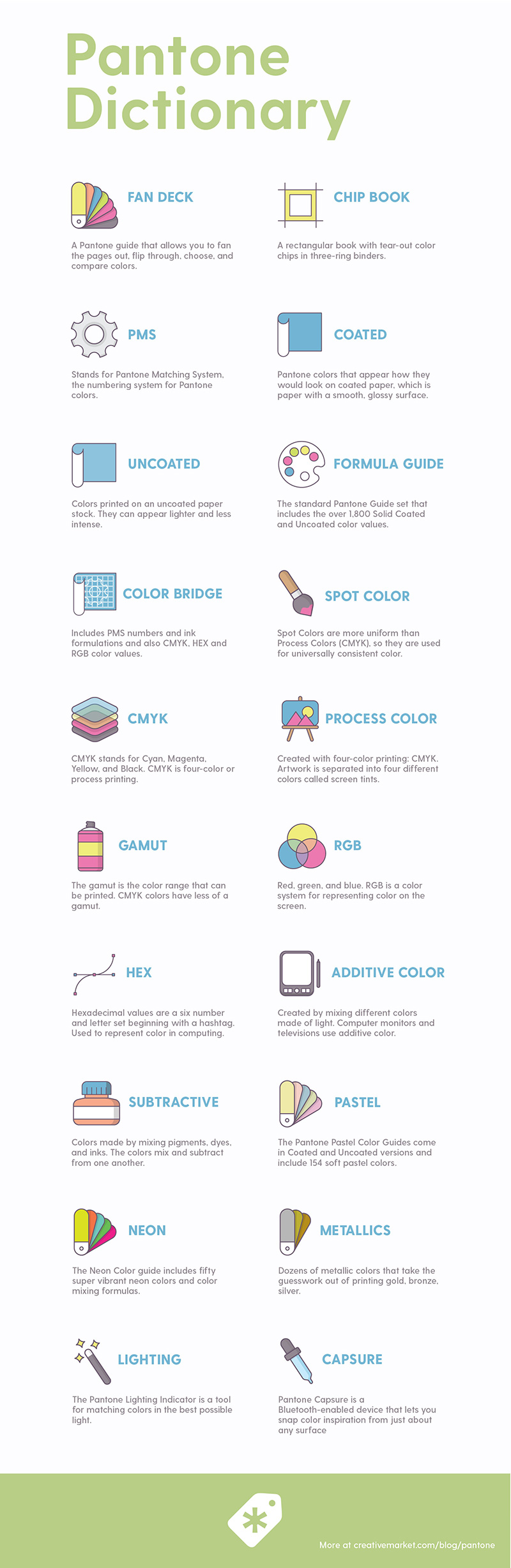 Pantone Dictionary 20 Terms You Should Know And Understand