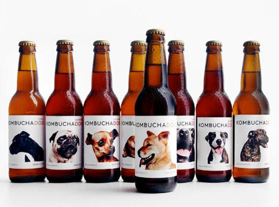 Kombucha Dog packaging