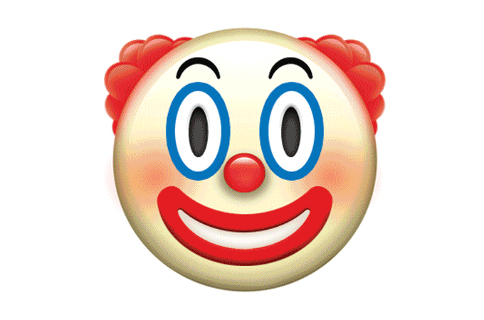 The Clown Emoji That Will Give You Nightmares + The Rest of