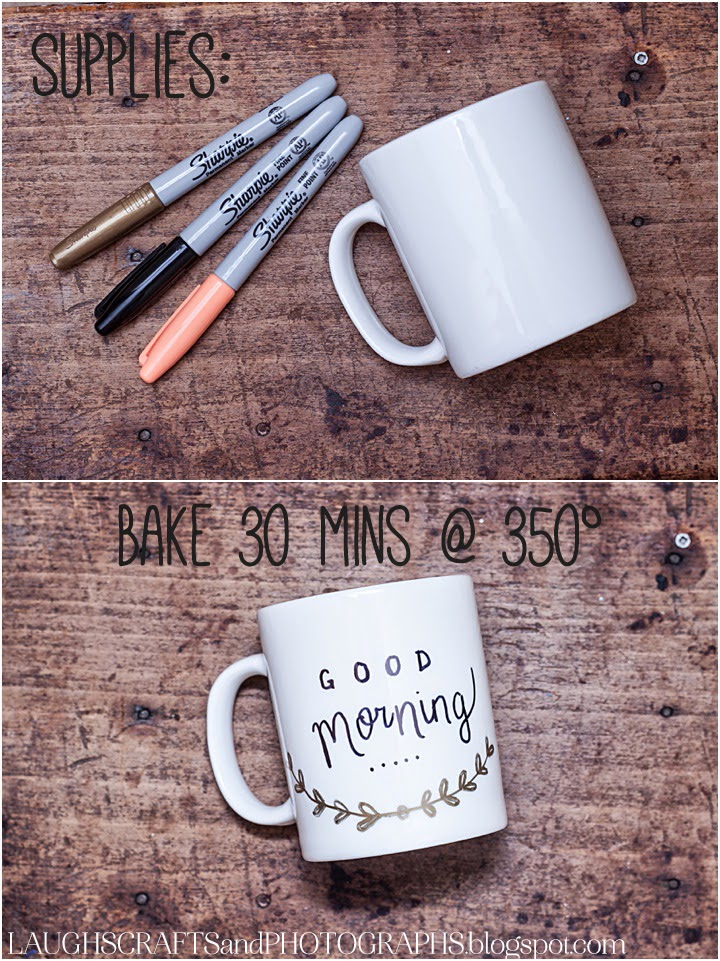 Coffee Cup Marker Diy Sharpie Mug