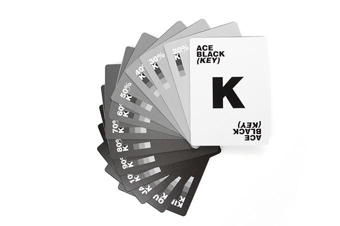CMYK K cards