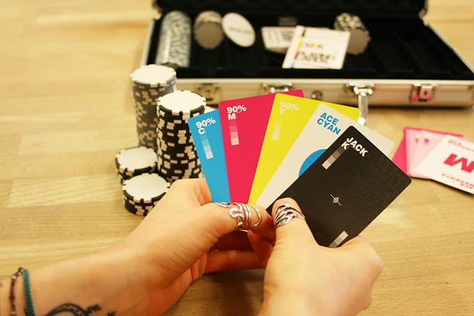 CMYK cards