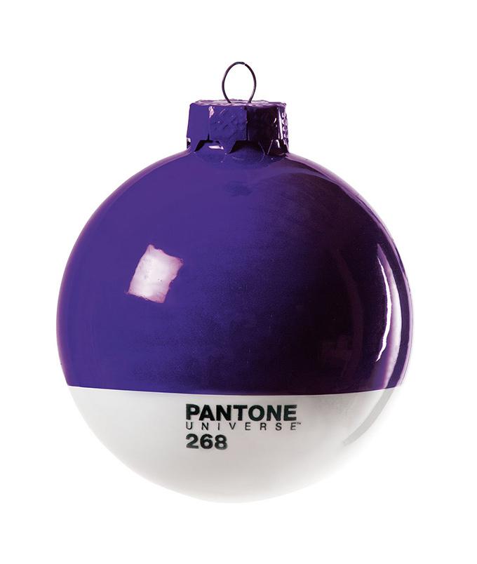 Pantone Christmas ornament purple