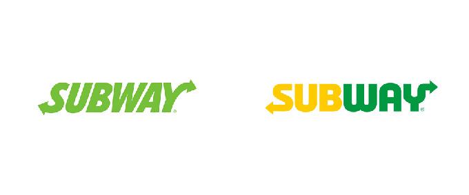 Subway's logo redesign