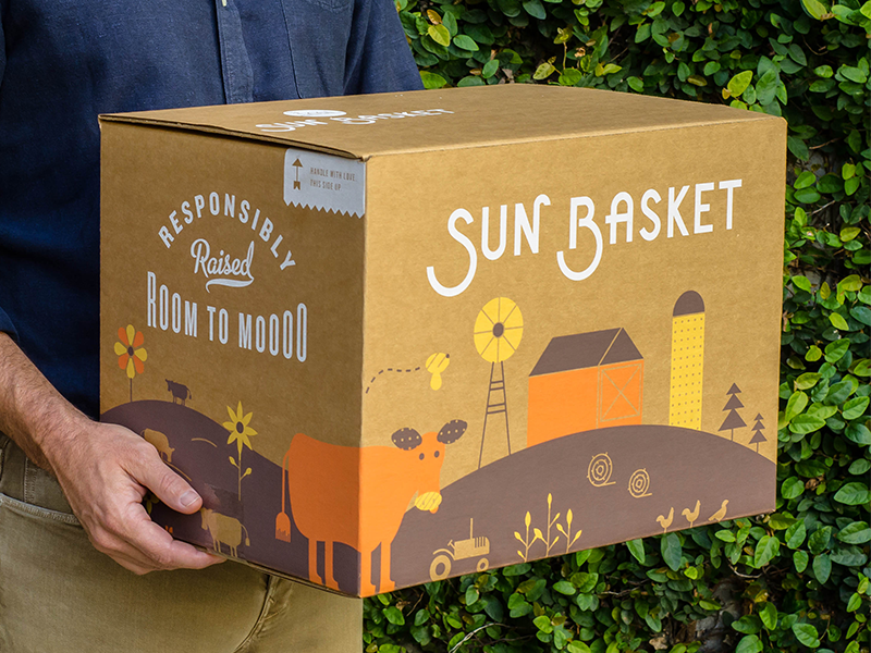 Sun Basket Packaging by Kyle Anthony Miller