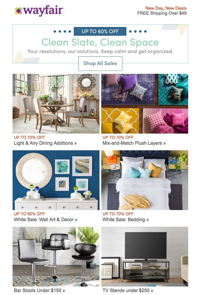 10 Glorious Email Design Examples Creative Market Blog