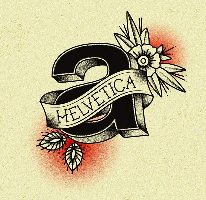 TypeTatts A for Helvetica