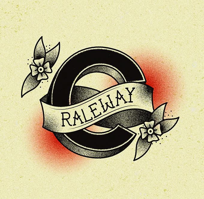 TypeTatts C for Raleway