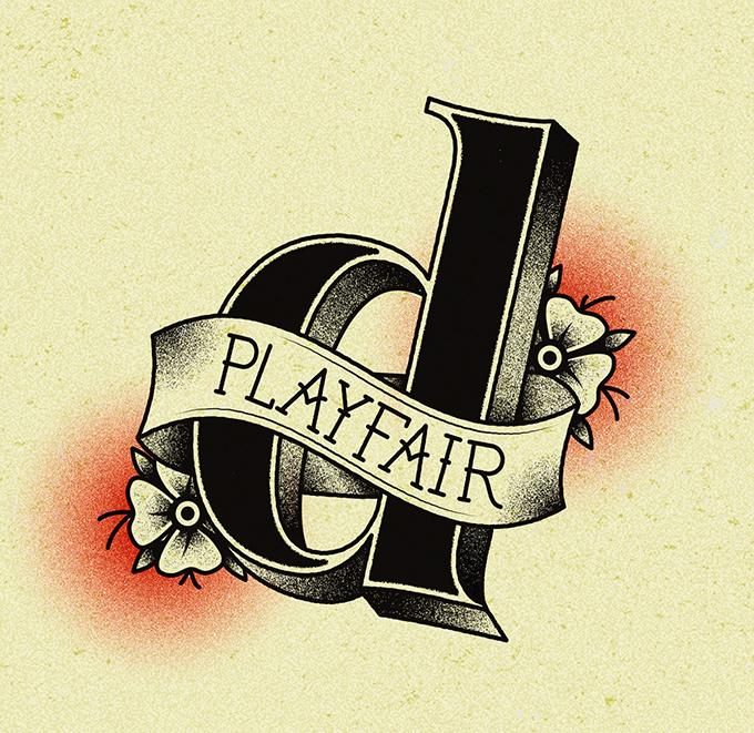 TypeTatts D for Playfair