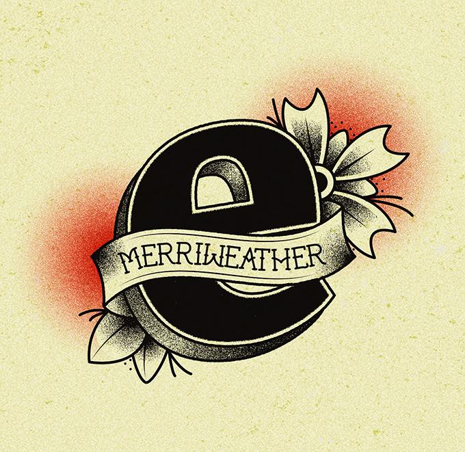 TypeTatts e is for Merriweather
