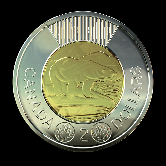 2012 Canadian Toonie