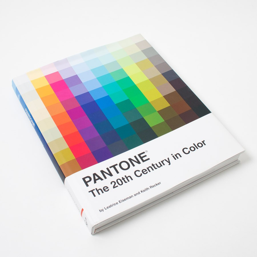 the 20th century in color book - Pantone Color Books