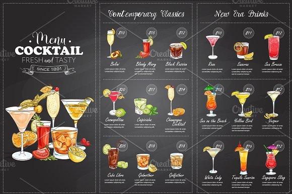 25 Best Ideas About Drink Menu On Pinterest: 50 Restaurant Menu Designs That Look Better Than Food