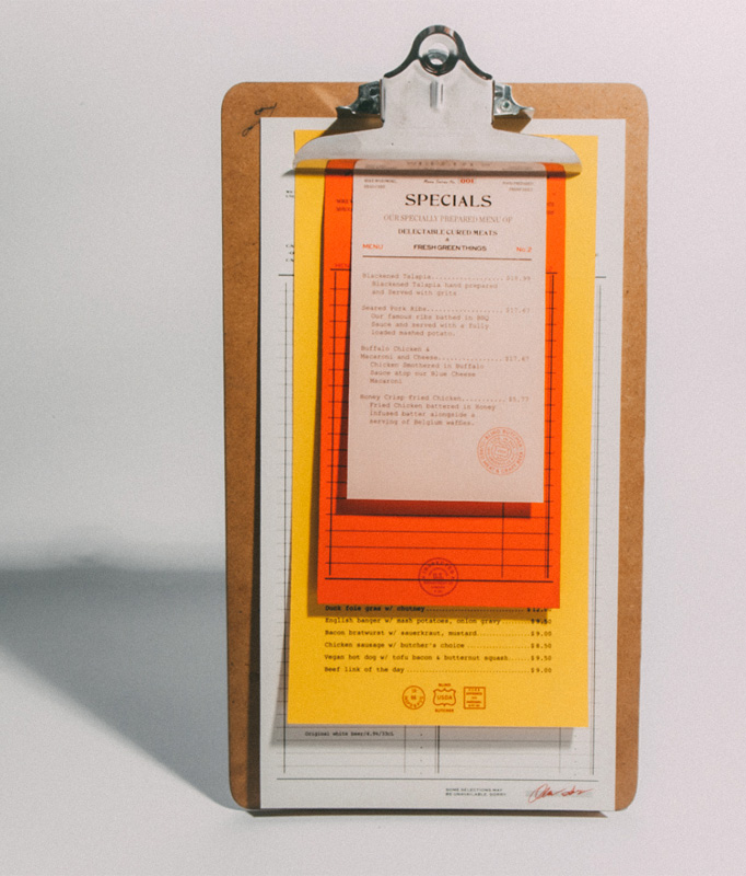 50 restaurant menu designs that look better than food creative